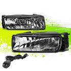 CLEAR LENS OE BUMPER FOG LIGHTS+SWITCH PAIR FOR 03-06 FORD EXPEDITION U222 SUV