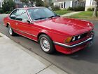 1985 BMW 6-Series 635 csi coupe 1985 BMW 635csi *OUTSTANDING SURVIVOR*European Model w/5 spd Manual Transmission
