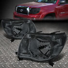 FOR 05-11 TOYOTA TACOMA TRUCK SMOKE HOUSING CLEAR REFLECTOR HEADLIGHTS LAMPS