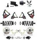 1955-1957 Chevy Impala Disc Brake Kit Wilwood Calipers Coil Over & Control Arms
