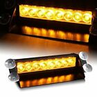 DIYAH 8 LED Warning Caution Car Van Truck Emergency Strobe Light Lamp For Roof