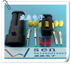 10 Kits 2 Pin Way Sealed Waterproof Electrical Wire Auto Connector Plug Set