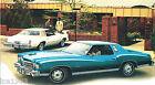 1975 Chevrolet MONTE CARLO Sales Brochure / Pamphlet / Catalog: 454,