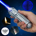 fast shiping-Powerful 450nm Blue Laser Pointer Pen Burning Beam Light