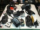 Video 1 Recorder 8mm Cannon RCA Panasonic JVC Extras Battery Tape Charger