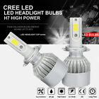 Upgrade H7 1080W 162000LM LED Headlight Kit High Low Beam Bulbs Fog CREE 6500K