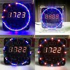 4 Digit LED Electronic Clock Kit C51 Time Temperature Light Sensor LED DIY Parts