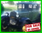 Ford Model A Sedan 1931 Ford Model A Sedan 4-Cylinder Gasoline 4-Speed Manual Garage Kept UTAH