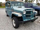 1954 Willys Station Wagon  1954 Willys Wagon, 327 chevy 3 speed manual, very original, nice patina.
