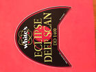 Whites Metal Detector 14 DD Eclipse Coil Decal