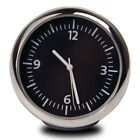 Car Dashboard Mini Quartz Watch Pointer Digital Luminous Time Clock Tools BE