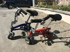 Just Go 2 Runt Mini Clown Bikes LOCAL PICK-UP ONLY Blue and Red  VeryVery Nice