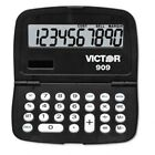 Victor : 909 Handheld Calculator, 10-Digit LCD -:- Sold as 2 Packs of