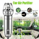 Car Home Office 12V Fresh Air Ionic Purifier Oxygen Bar Ozone Ionizer Cleaner