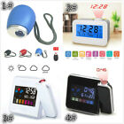 Digital LED Projection Alarm Clock With Voice/Temperature/Hygrometer/Weather AEQ