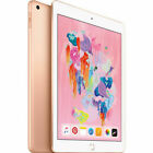 Apple iPad 6th Gen. 128GB, Wi-Fi + Cellular (Unlocked), 9.7Inch - Gold