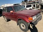 1991 FJ80 LANDCRUISER WRECKED/REBUILDABLE SALVAGE RUNNING for PARTS or REPAIR