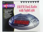 Sentry AM/FM Clock Radio with Nightlight CR103