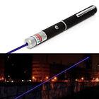 405nm 1mw Powerful Visible Light Beam Focus Burning Laser Pointer Pen Torch ABE