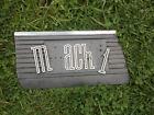 1970 Mustang Mach I Fender Trim LH D0ZB-16B069-A Die Cast Pot metal Original