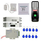 Electrci Lock RFID Card 1000 Fingerprint Access Control Systems Security