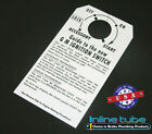 69-72 Steering Column Ignition Instruction Start Card Tag NOS Judge Trans Am