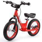 ENKEEO 14/12 Sport Balance Bike No Pedal Control Walking Bicycle Transitional