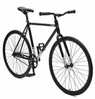 Critical Cycles Harper Coaster Fixie Style Single-Speed Commuter Bike with Foot