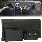 3pcs Tailgate Bag Case Cover Tool Organizer Pockets for Jeep Wrangler JK 07-2015