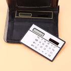 Pocket Convenient Mini Small 8 Bits Calculator Super Thin Ultrathin Solar Panel
