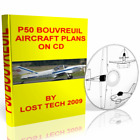 BUILD YOUR OWN ULTRALIGHT AIRPLANE  P50 BOUVREUIL PLANS ON CD PLUS EXTRAS