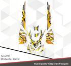 SKI-DOO XP MXZ SNOWMOBILE SLED WRAP GRAPHICS STICKER DECAL KIT 2008-2013 SA0730