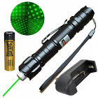 Powerful 532nm Green Laser Pointer Pen Lazer Beam Light With Battery/Charger