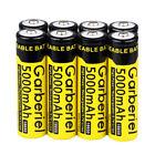 8pc Garberiel 5000mAh BRC 3.7V Li-ion 18650 High Quality Rechargeable Batteries