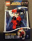 Harley Quinn LEDLITE SUPER HEROES LEGO KEYCHAIN NEW IN BOX  DC COMIC rare Batman