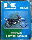 Kawasaki KE125 Service Manual 1974-1979