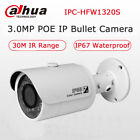 Dahua IPC-HFW1320S POE 3MP HD IP67 IR Mini Bullet IP Camera Replace IPC-HFW4300S