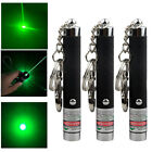 3pc Green Laser Pen 1mw Bright Single Point Military Lazer Pointer