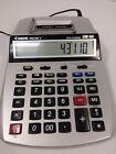 Canon P23-DH V 2 Color Mini-Desktop Printing Calculator Clock Calendar