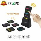 5 In 1 Remote Wireless LED Key Finder Receiver Lost Thing Alarm Locator Tracker