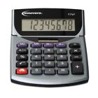 Innovera 15925 Portable Minidesk Calculator, 8-Digit LCD - Office Electronics