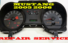 04 2005 2006 2007 FORD MUSTANG 6 GAUGE CLUSTER SOFTWARE & ODOMETER CALIBRATION