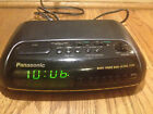 Panasonic RC-6099 Digital Clock AM/FM Radio Dual Alarm Green Numbers Home Office