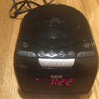 RCA RP5605-A Digital AM/FM CD Player Clock Radio LED Display