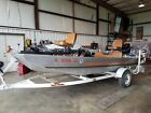 1983 Bass Tracker Fishing Boat with Trailer and Tarp - Well cared for condition!