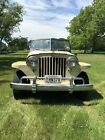 1950 Jeep Other Black 1950 Willy's Jeepster - Yellow