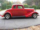 1934 Ford 5 window coupe  1934 Ford five window coupe