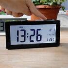 Digital Backlight LCD Alarm Clock Temperature Calendar Display Month Week