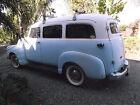 1953 GMC Suburban w/visor 1953 GMC custom suburban (NO RESERVE)