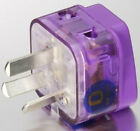 POWER Travel Adapter Plug for CHINA AU NEW ZEALAND FIJI ISLANDS, 2-Ports & Surge
